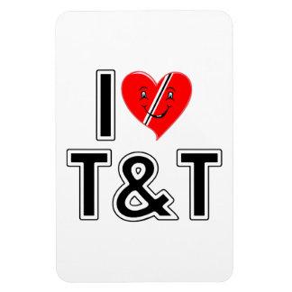 私はトリニダードトバゴを愛します マグネット