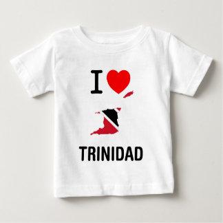 私はトリニダード及びトバゴを愛します ベビーTシャツ