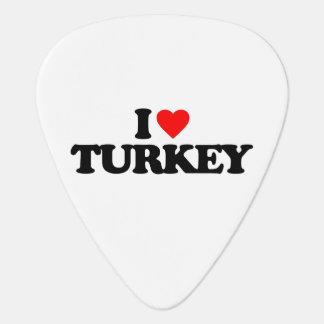 私はトルコを愛します ギターピック