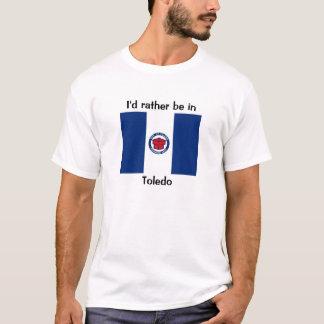 私はトレドにむしろいます Tシャツ