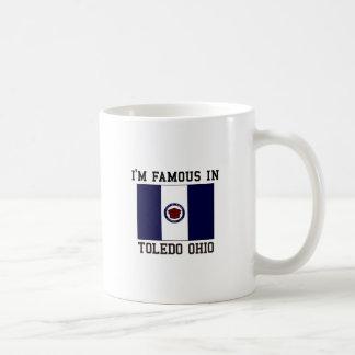 私はトレドオハイオ州で有名です コーヒーマグカップ