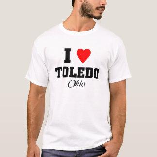 私はトレド、オハイオ州を愛します Tシャツ