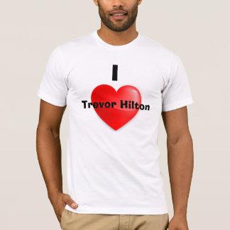 私はトレバーHiltonのTシャツを愛します Tシャツ