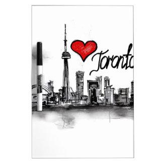 私はトロントを愛します ホワイトボード