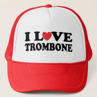 私はトロンボーンを愛します キャップ