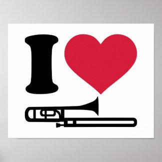 私はトロンボーンを愛します ポスター