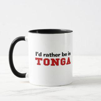 私はトンガにむしろいます マグカップ