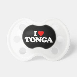 私はトンガを愛します おしゃぶり