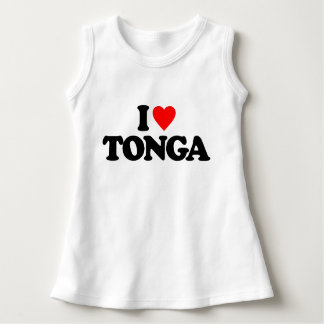 私はトンガを愛します ドレス