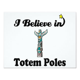 私はトーテムポールで信じます カード
