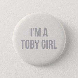 私はトービーの女の子Pinです 缶バッジ
