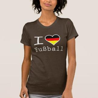 私はドイツのヒューズの球を愛します Tシャツ