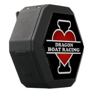 私はドラゴンのボート競争を愛します ブラックBluetoothスピーカー