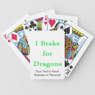 私はドラゴンのミントのためにブレーキがかかります バイスクルトランプ