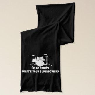 私はドラムを、何ですあなたの超出力遊びますか。 スカーフ