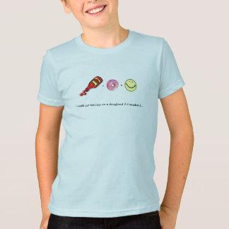 私はドーナツにケチャップを…置きます Tシャツ