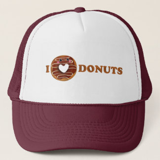 私はドーナツを愛します キャップ