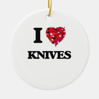 私はナイフを愛します セラミックオーナメント