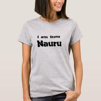 私はナウルからあります Tシャツ