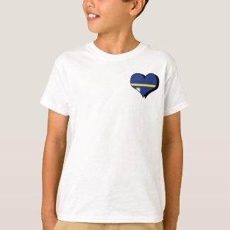 私はナウルのTシャツを愛します Tシャツ