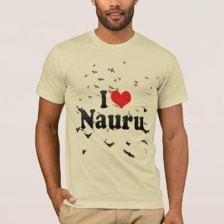 私はナウルを愛します Tシャツ