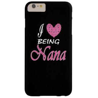 私はナナであることを愛します BARELY THERE iPhone 6 PLUS ケース