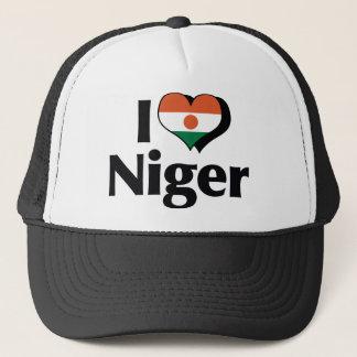私はニジェールの旗を愛します キャップ