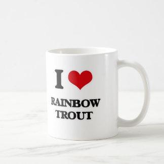 私はニジマスを愛します コーヒーマグカップ