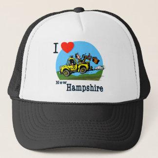 私はニューハンプシャーの国のタクシーを愛します キャップ