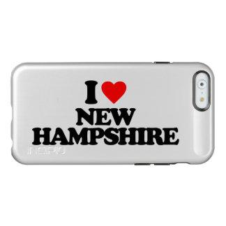私はニューハンプシャーを愛します INCIPIO FEATHER SHINE iPhone 6ケース