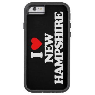 私はニューハンプシャーを愛します TOUGH XTREME iPhone 6 ケース