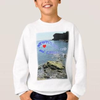 私はニューファウンドランドおよびラブラドールを愛します スウェットシャツ