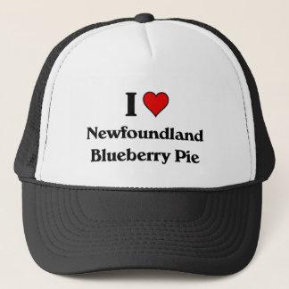 私はニューファウンドランドのブルーベリー・パイを愛します キャップ