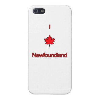 私はニューファウンドランドを愛します iPhone 5 ケース