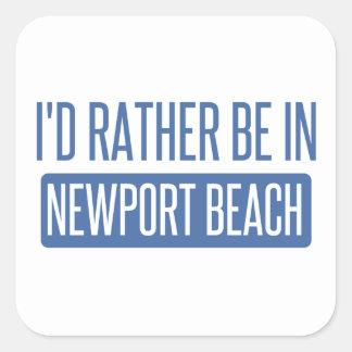 私はニューポートビーチにむしろいます スクエアシール