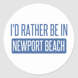私はニューポートビーチにむしろいます ラウンドシール