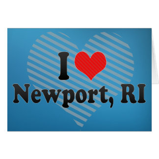 私はニューポート、RIを愛します カード