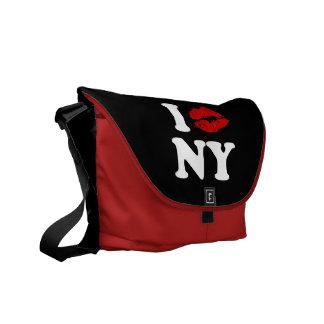 私はニューヨークに接吻します メッセンジャーバッグ