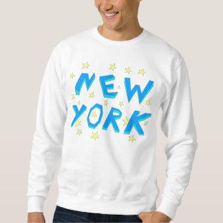 私はニューヨークを愛しますも スウェットシャツ
