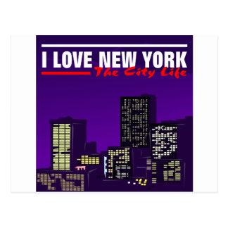 私はニューヨークを愛します ポストカード