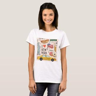 私はニューヨークシティを愛します Tシャツ