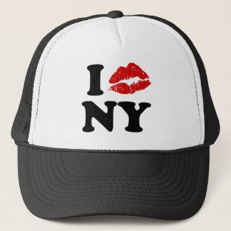 私はニューヨーク|の赤い口紅のキスをするな唇をxxx愛します キャップ
