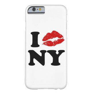 私はニューヨーク|の赤い口紅のキスをするな唇をxxx愛します barely there iPhone 6 ケース