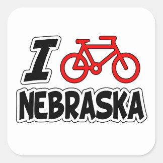 私はネブラスカを循環させることを愛します スクエアシール
