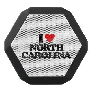 私はノースカロライナを愛します ブラックBluetoothスピーカー