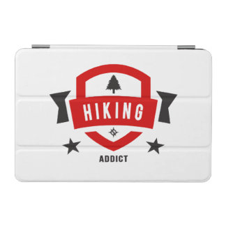 私はハイキングすることを愛します(ハイキングのバッジ) iPad MINIカバー