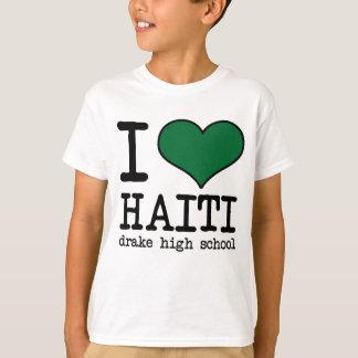 私はハイチを愛します Tシャツ