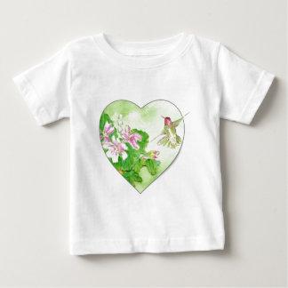 私はハチドリ、鳥のコレクションを愛します ベビーTシャツ