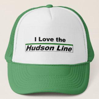私はハドソンライン帽子を愛します キャップ