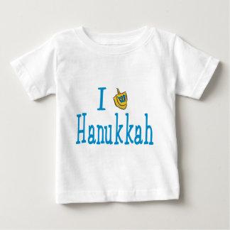 私はハヌカーを愛します ベビーTシャツ